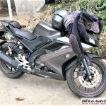 Yamaha R15 v3.0 spied again right side