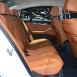 2017 BMW 5 Series with BMW M Performance accessories rear seats at 2017 Thai Motor Expo