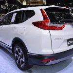 2017 Honda CR-V diesel rear three quarters left side 2017 Thai Motor Expo