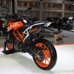 2017 KTM 390 Duke rear left quarter at 2017 Thai Motor Expo
