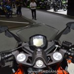2017 KTM RC 390 cockpit at 2017 Thai Motor Expo