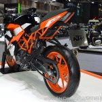 2017 KTM RC 390 rear left quarter at 2017 Thai Motor Expo