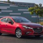 2017 Mazda3 front three quarters