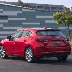 2017 Mazda3 rear three quarters