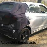 2018 Hyundai i20 facelift spied on video rear three quarters