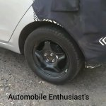 2018 Hyundai i20 facelift spied on video rims