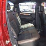 2018 Isuzu D-Max V-Cross rear seats at 2017 Thai Motor Expo