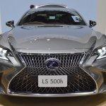 2018 Lexus LS front at 2017 Thai Motor Expo