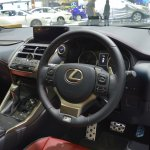 2018 Lexus NX 300h F-Sport dashboard at 2017 Thai Motor Expo