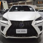 2018 Lexus NX 300h F-Sport front at 2017 Thai Motor Expo