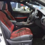 2018 Lexus NX 300h F-Sport front seats at 2017 Thai Motor Expo