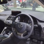 2018 Lexus NX 300h Premium dashboard at 2017 Thai Motor Expo