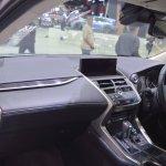 2018 Lexus NX 300h Premium dashboard passenger side view at 2017 Thai Motor Expo
