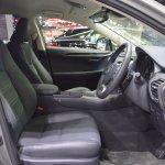 2018 Lexus NX 300h Premium front seats at 2017 Thai Motor Expo