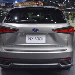 2018 Lexus NX 300h Premium rear at 2017 Thai Motor Expo