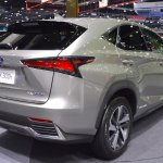 2018 Lexus NX 300h Premium rear three quarters right side at 2017 Thai Motor Expo
