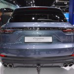 2018 Porsche Cayenne S rear at 2017 Thai Motor Expo.JPG