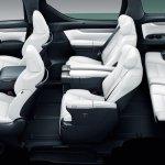 2018 Toyota Alphard (facelift) cabin