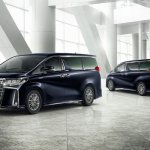 2018 Toyota Alphard (facelift) exterior
