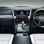 2018 Toyota Alphard (facelift) interior dashboard