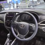 2018 Toyota Yaris (facelift) dashboard at 2017 Thai Motor Expo