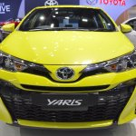 2018 Toyota Yaris (facelift) front at 2017 Thai Motor Expo