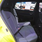 2018 Toyota Yaris (facelift) rear seats at 2017 Thai Motor Expo