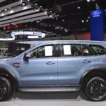 Accessorised Ford Everest left side at 2017 Thai Motor Expo