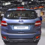 Accessorised Ford Everest rear at 2017 Thai Motor Expo