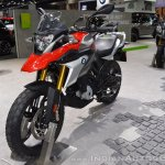 BMW G 310 GS front left quarter at 2017 Thai Motor Expo