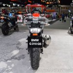 BMW G 310 GS rear at 2017 Thai Motor Expo