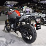 BMW G 310 GS rear left quarter at 2017 Thai Motor Expo
