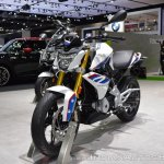 BMW G 310 R front left quarter at 2017 Thai Motor Expo