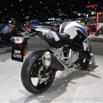BMW G 310 R rear right quarter at 2017 Thai Motor Expo
