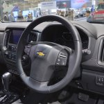 Chevrolet Colorado Centennial Edition dashboard at 2017 Thai Motor Expo