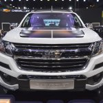 Chevrolet Colorado Centennial Edition front at 2017 Thai Motor Expo
