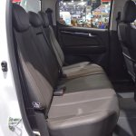 Chevrolet Colorado Centennial Edition rear seats at 2017 Thai Motor Expo