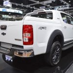 Chevrolet Colorado Centennial Edition rear three quarters at 2017 Thai Motor Expo