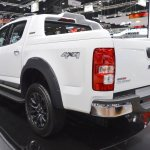 Chevrolet Colorado Centennial Edition rear three quarters left side at 2017 Thai Motor Expo