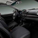 Fiat Cronos interior dashboard angle view