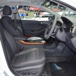 Hyundai Ioniq electric front seats at 2017 Thai Motor Expo