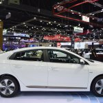 Hyundai Ioniq electric profile at 2017 Thai Motor Expo