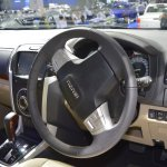 Isuzu MU-X 60th Anniversary edition dashboard at 2017 Thai Motor Expo