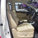 Isuzu MU-X 60th Anniversary edition front seats at 2017 Thai Motor Expo