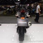 Kawasaki Ninja 400 Black rear at 2017 Thai Motor Expo