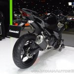 Kawasaki Ninja 400 Black rear right quarter at 2017 Thai Motor Expo