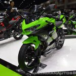 Kawasaki Ninja 400 KRT Edition front left quarter at 2017 Thai Motor Expo