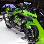 Kawasaki Ninja 400 KRT Edition front right quarter at 2017 Thai Motor Expo