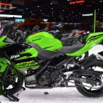 Kawasaki Ninja 400 KRT Edition left side at 2017 Thai Motor Expo