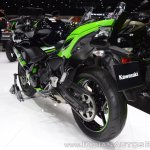 Kawasaki Ninja 650 KRT Edition rear left quarter at 2017 Thai Motor Expo